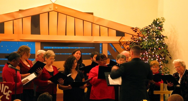 Christmas Eve2010 choir
