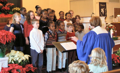 children's choir dec. 2006