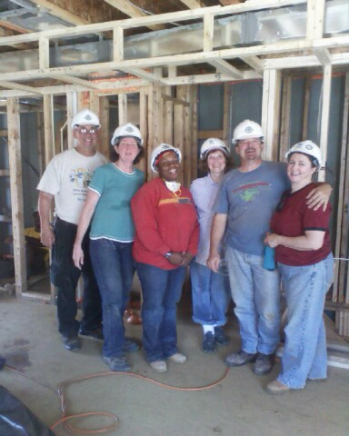 Habitat                         volunteers
