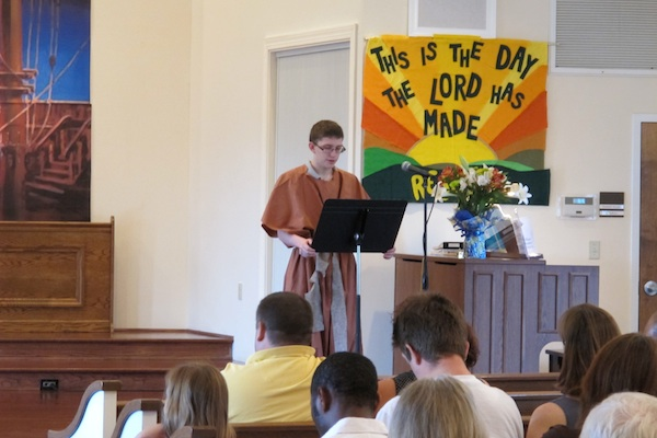 Youth Sunday 11 7